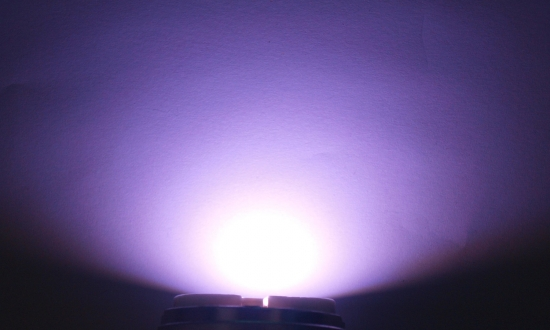 OptoSupply LED, 5mm, 5-5.4lm, 15°, klar, lavender