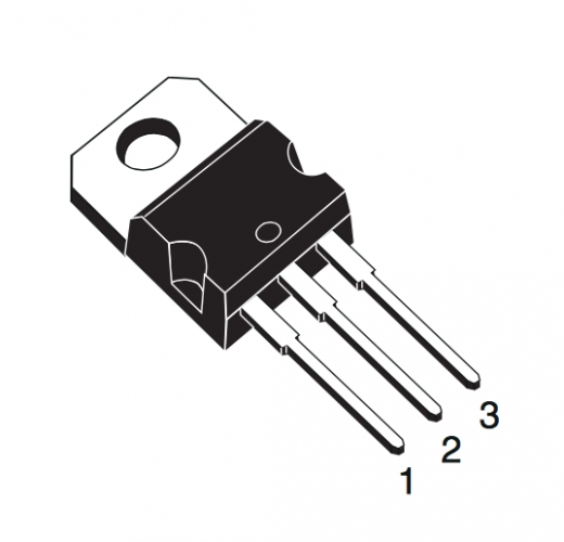 STP16NF06 - N-Kanal MOSFET Transistor, 60V, 16A, TO-220, 3-pin