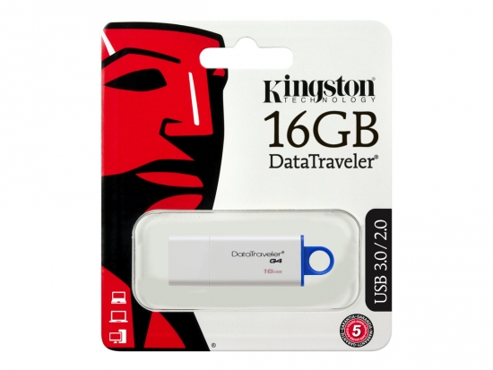 Kingston DataTraveler G4 USB 3.0 Stick 16GB