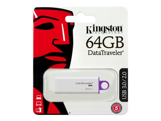 Kingston DataTraveler G4 USB 3.0 Stick 64GB