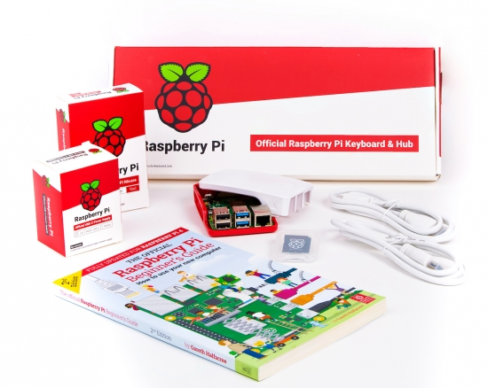 offizielles Raspberry Pi 4 4GB Desktop Kit, DE