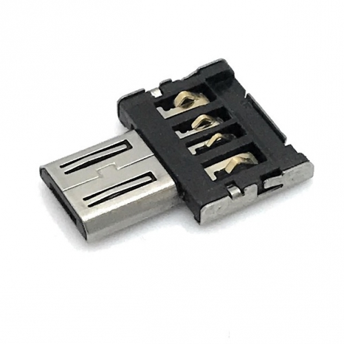 Super Tiny USB 2.0 Hi-Speed OTG Adapter A-Buchse - Micro B-Stecker
