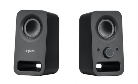 Logitech Aktivlautsprecher Z150 Midnight Black