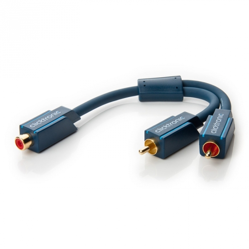 Clicktronic Casual Y-Cinch Adapter