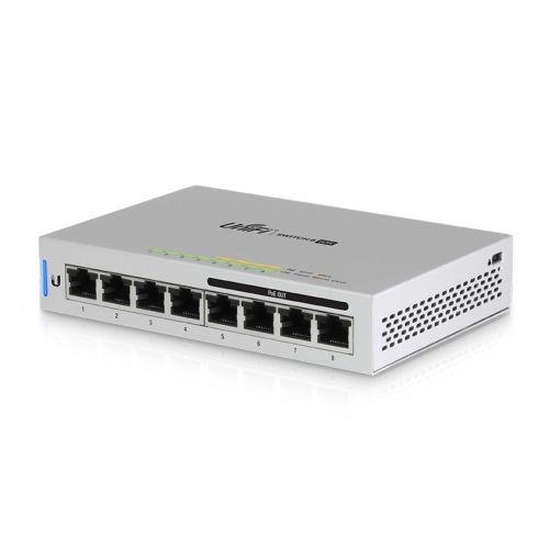 Ubiquiti UniFi US-8-60W 8 Port PoE Managed Gigabit Switch