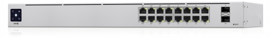 Ubiquiti UniFi USW-16-POE Gen2 18 Port PoE+ Managed Gigabit Switch