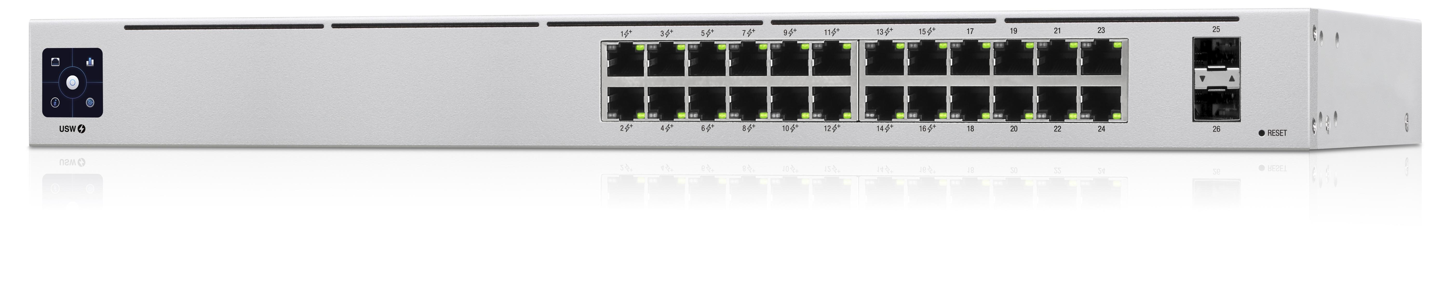Ubiquiti UniFi USW-24-POE Gen2 26 Port PoE+ Managed Gigabit Switch