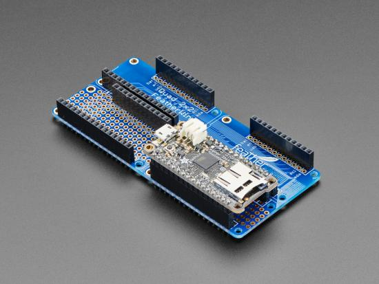 Adafruit Quad 2x2 FeatherWing Kit mit Headern