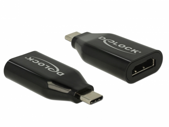 Adapter USB Type-C Stecker - HDMI Buchse (DP Alt Mode) 4K 60 Hz