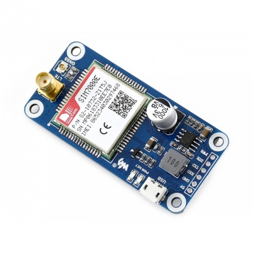 NB-IoT / eMTC / EDGE / GPRS / GNSS HAT für Raspberry Pi, EU Version