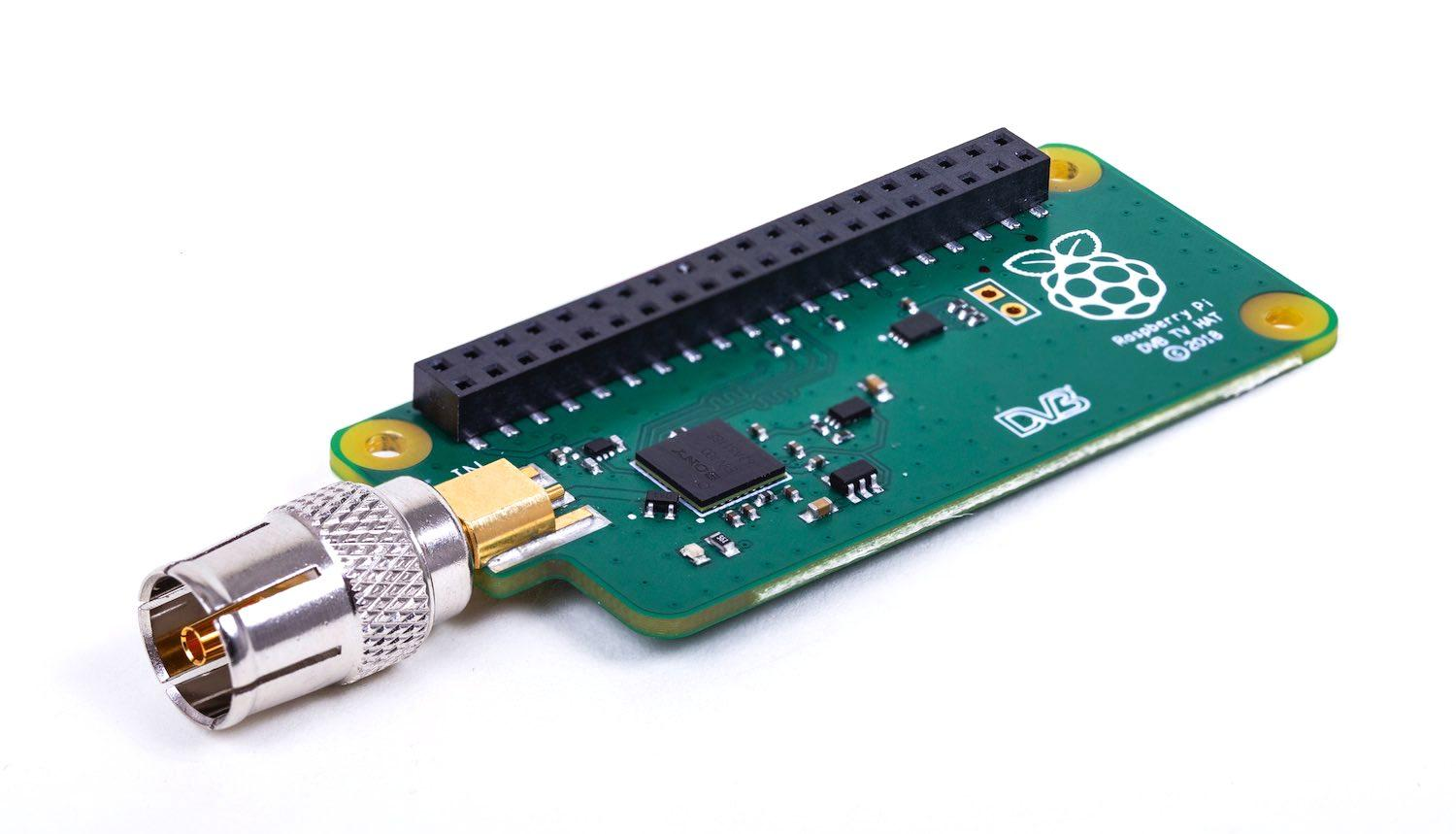 Raspberry Pi DVB-T / DVB-T2 TV µHat