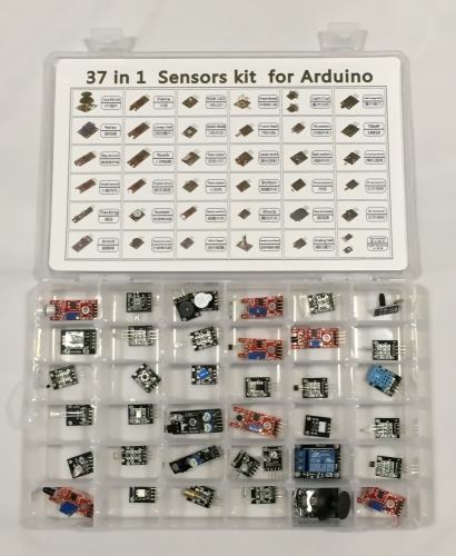 37-teiliges Sensor Kit in Kunststoffbox